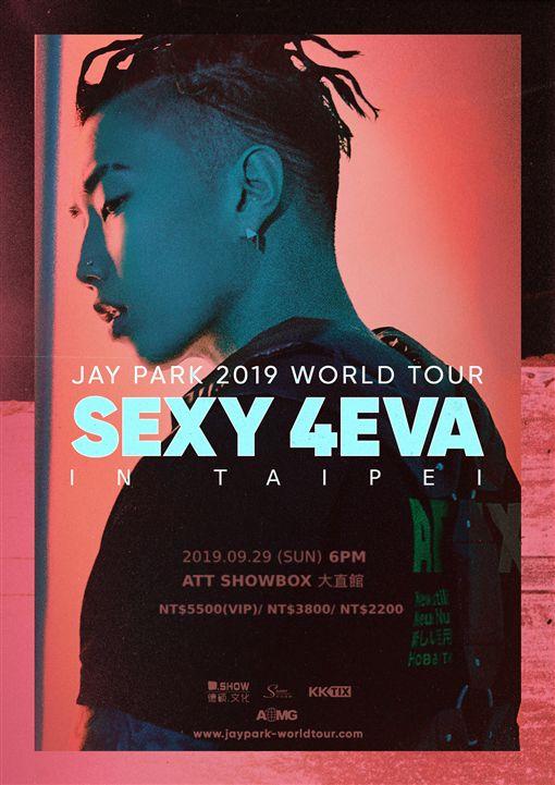 JAY PARK於9月29日來台舉辦個人演唱會。(圖/主辦單圖提供)