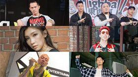 金曲30必追的饒舌歌手。(圖/記者邱榮吉攝影、林愷倫、陳星翰IG、LEO王臉書)
