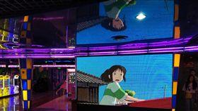 神隱少女18年後在中國首映日本動畫大師宮崎駿18年前的經典作品「神隱少女」,21日終於在中國大陸院線首映。首日累計票房約人民幣5407萬元,是當天票房冠軍。圖為北京一處電影院。中央社記者繆宗翰北京攝 108年6月22日