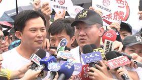 黃國昌,館長,活動錢受訪