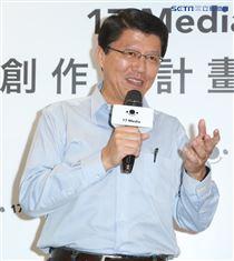 謝龍介出席17直播合作計畫發布會。(記者林士傑/攝影)