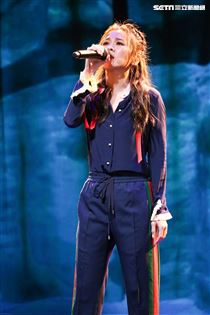 蔡健雅睽違六年舉辦簽唱會。(記者林士傑/攝影)