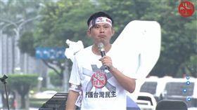 黃國昌 反紅媒 /翻攝自館長臉書
