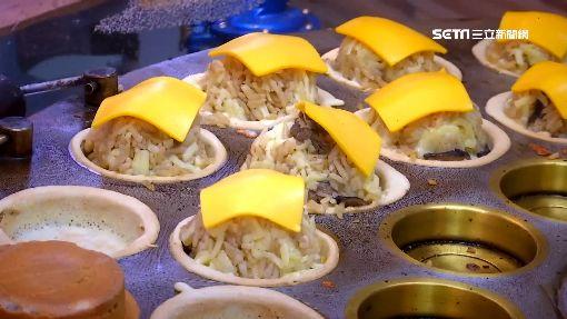 餡料浮誇!「泡菜起士、青醬百菇」 車輪餅口味多