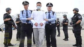 台灣詐騙犯被送到中國(圖/翻攝自石磊YouTube)