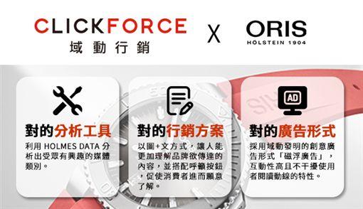 老字號品牌如何跳脫舊有思維,利用數位媒體解決眼下的問題?知名手表品牌ORIS選擇域動,規劃出一套數位行銷方案,重新為品牌定義新方向提升品牌知名度。