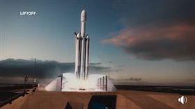 國家實驗研究院特別在臉書粉專公布由SpaceX 製作的「火箭發射模擬動畫」,臉書