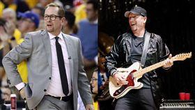 NBA/暴龍主帥「演唱會」大秀吉他 NBA,多倫多暴龍,Nick Nurse,總冠軍,演唱會,吉他 翻攝自推特