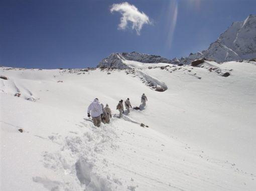 喜馬拉雅山圖翻攝自ITBP_official 推特