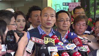 民調吊車尾 韓:民進黨最怕我選總統