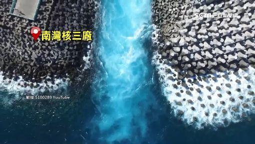 安平港罕見「陰陽海」 生態員:憂廢水排放