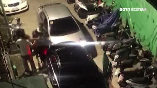 車禍撞出「三角習題」 黑衣醋女火爆開打