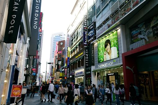 韓國觀光公社今(24)天公布統計資料,5月外國遊客達148萬5684人次,較去年同期增加20%。其中,台灣遊客為10萬1779人次,增加15.3%,排名第3位。圖/翻攝自Pixabay