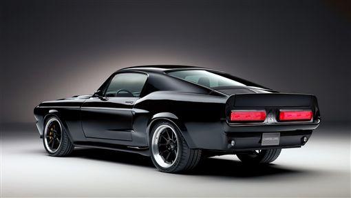 ▲復刻版第一代電動Mustang。(圖/翻攝網站)