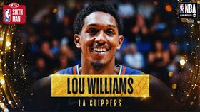 NBA/快艇盧長老再贏最佳第六人! NBA,洛杉磯快艇,Lou Williams,年度最佳第六人 翻攝自推特