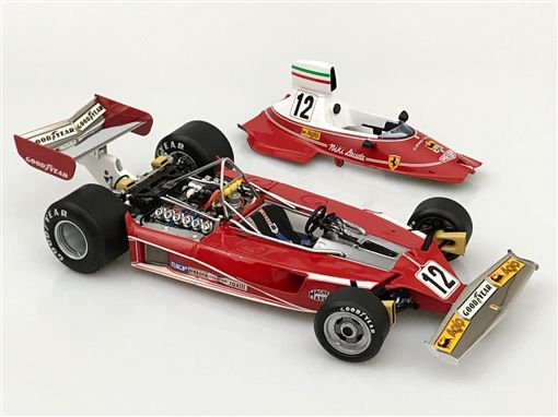 ▲Niki Lauda駕駛的Ferrari 312T賽車。(圖/翻攝網站)