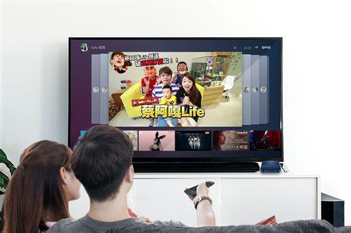 個人化,AI電視盒,OVO,YouTube,蔡阿嘎