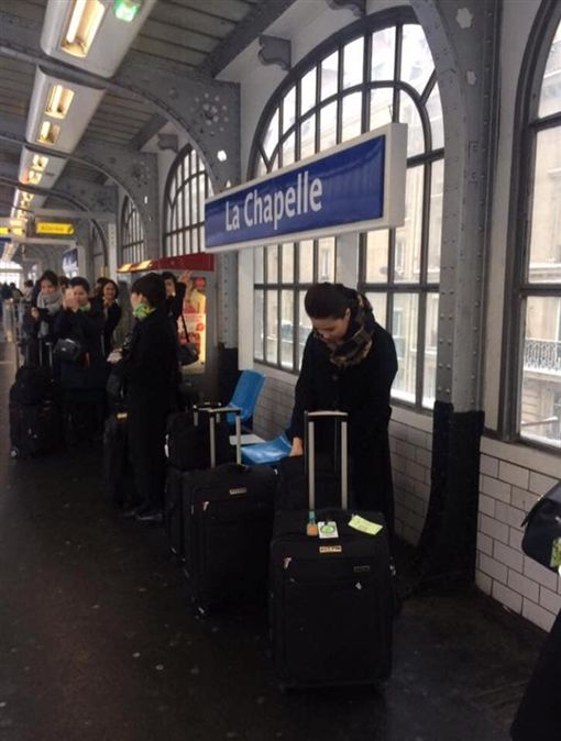 巴黎事件,長榮,空姐,地鐵,火車,