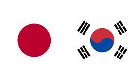日本,南韓,國旗,日韓(圖/翻攝自維基百科)