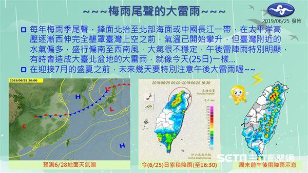 氣象局,天氣,梅雨,雷雨,大雷雨