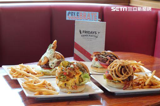 TGI FRIDAYS餐廳「漢堡日」買一送一(圖/TGI FRIDAYS提供)