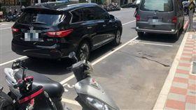 停車,停車位,三寶,爆廢公社 圖/翻攝自臉書爆廢公社