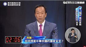 國民黨政見發表會,郭台銘