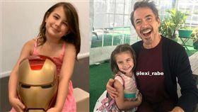 Lexi Rabe演出鋼鐵人女兒「Morgan」爆紅。(圖/翻攝自Lexi Rabe IG)
