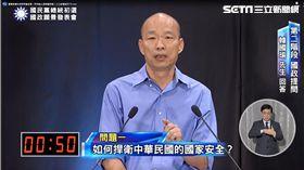 國民黨首場「國政願景電視發表會」,韓國瑜