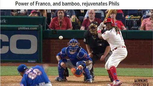 ▲費城人單場4轟痛擊大都會。(圖/翻攝自MLB官網)