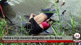美墨邊境,非法移民,偷渡,難民 圖/翻攝千年報