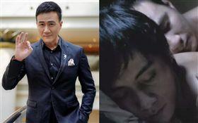 胡軍2001年跟劉燁主演的同志電影《藍宇》。微博