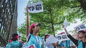 長榮罷工(圖/翻攝自桃園市空服員職業工會臉書)