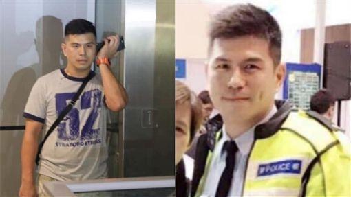 香港,便衣警察,臥底,反送中,逃犯條例(圖/翻攝自臉書)