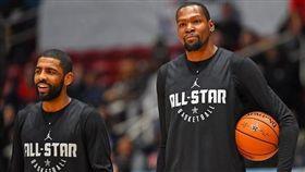 NBA/KD、KI驚傳秘密會面2次 NBA,金州勇士,Kevin Durant,波士頓塞爾提克,Kyrie Irving,布魯克林籃網 翻攝自推特