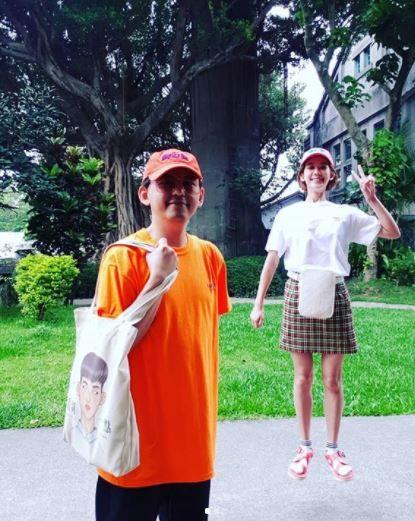 男星黃子佼與小他20歲的女友孟耿如交往多年 IG