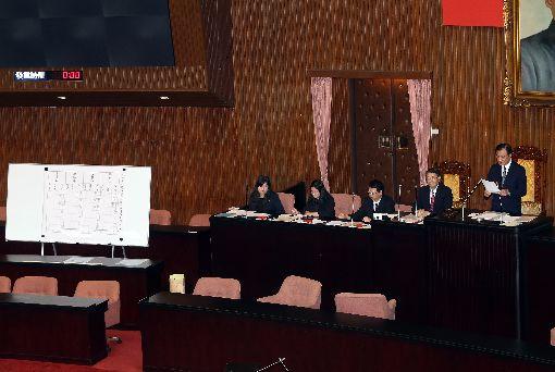 立院同意  呂太郎等4人任大法官(1)立法院會27日上午行使司法院大法官被提名人楊惠欽、蔡宗珍、謝銘洋、呂太郎同意權案投票,4人都獲超過57票同意票,獲立法院同意任大法官。中央社記者郭日曉攝  108年6月27日