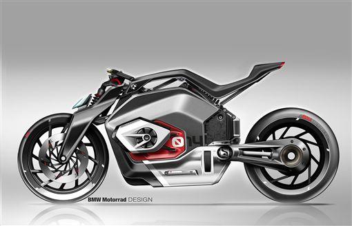 ▲Vision DC Roadster電動概念機車。(圖/翻攝網站)