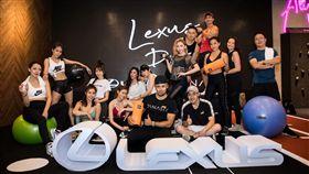 ▲LEXUS DAY精品健身。(圖/LEXUS提供)