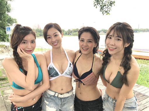 浩角翔起、夏語心、馬國畢《綜藝新時代》 圖/民視提供