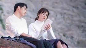 宋慧喬,宋仲基,離婚,太陽的後裔。圖/微博