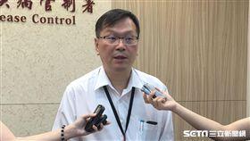 疾管署今(27)日說明國內新增一起麻疹群聚事件。(圖/記者楊晴雯攝)