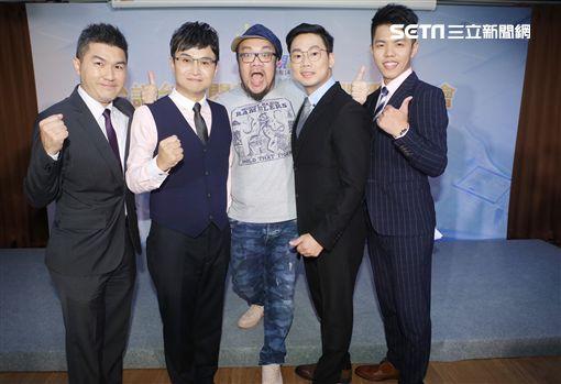主播曾偉旻、鄭家和、吳國禎、張志雄、導演葉天倫圖/公視提供