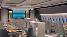 ▲紅襪搭乘的777噴射客機。(圖/取自推特)