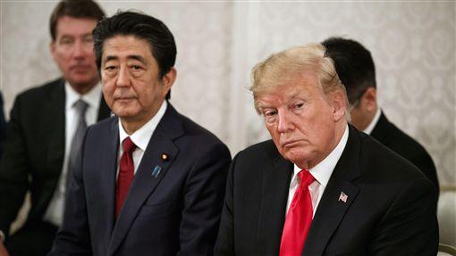 美國總統川普與二分时时彩首相安倍晉三舉行領袖會談,圖/美聯社/達志影像