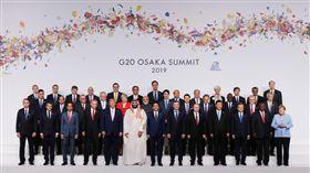 G20,合照(圖/翻攝自G20 Japan twitter)