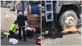 馬來西亞,車禍,輾斃,車底,拖行(圖/翻攝自中國報)