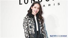 郭碧婷出席Longchamp秋冬媒體預覽會。(圖/記者林士傑攝影)