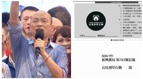 ▲高雄市長韓國瑜、罷免連署書(圖/資料畫面)