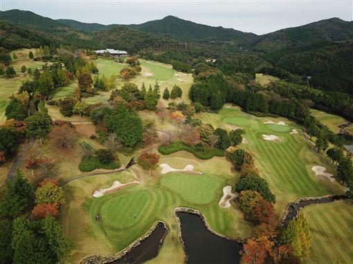▲位於茨城縣水戶市的水戶高爾夫俱樂部,是個擁有36洞、挑戰性十足的日式山地森林球場。(圖/妮好傳媒提供)